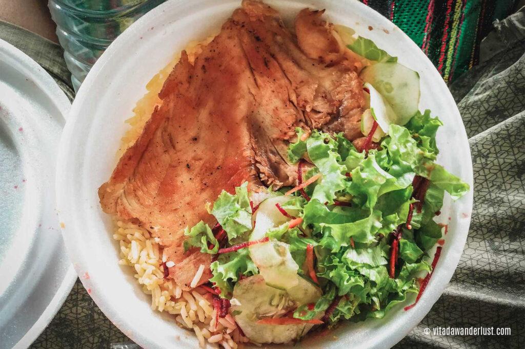 Il piatto unico che servivano come pranzo o cena