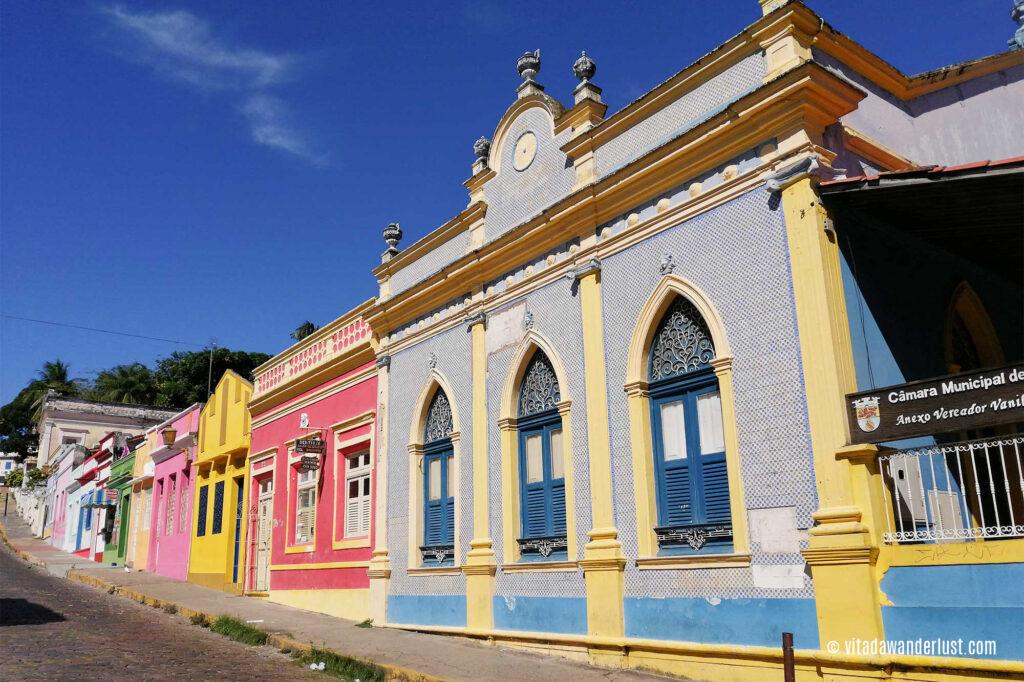 Tra le vie del centro storico di Olinda