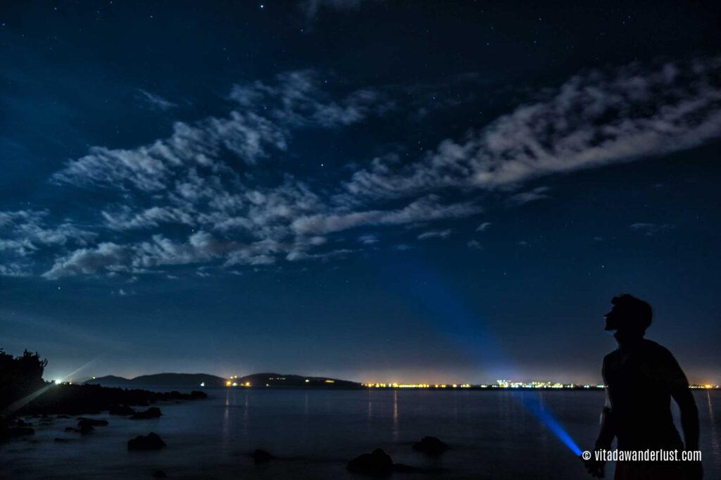 Notte stellata Ilha Feia
